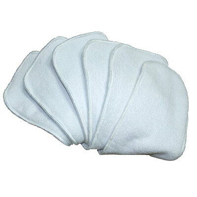 AU15 • Buy 5 Microfibre Inserts Liners For Modern Cloth Nappies - Absorbent & Breathable