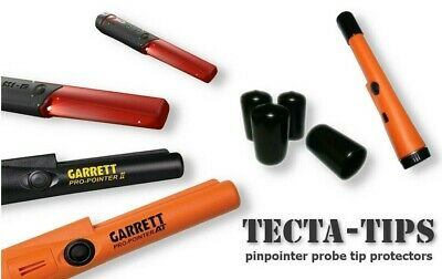 4 TECTA-TIPS To Fit ALL Garrett Pro Pointer Pin-pointer Probes. FREE UK POST • 6£