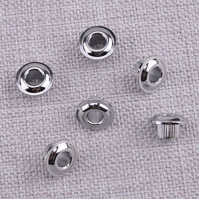 $ CDN10.41 • Buy 6Pcs Silver 10mm Guitar Tuner Key Conversion Bushing Adapter Ferrules Assembly