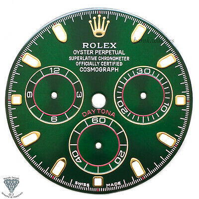 $ CDN858.94 • Buy Green Rolex Dial For Rolex Daytona 116508, 116520, 116505 For Caliber 4130