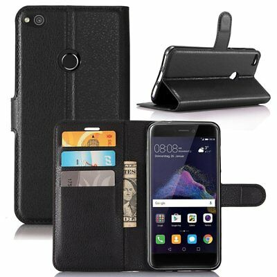 FOR ALL NEW HUAWEI MODEL - Magnetic Closure Leather Stand Wallet Flip Case Cover • 4.89£
