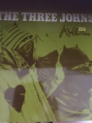 The Three Johns A.W.O.L, 12 Inch Vinyl Record Innexcellent Condition • 12£