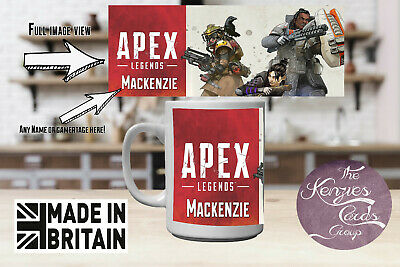 $ CDN17.36 • Buy Apex Legends Inspiered Personalised Mug Cup Add Any Name Or Gamertag V1