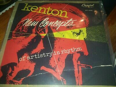 Stan Kenton And His Orchestra 10 Inch Lp Record.  • 5.99£