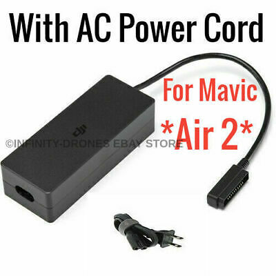 AU32.19 • Buy (DJI Mavic Air 2S  Fast Battery Charger /Charging HUB With Power Cord Adapter AC