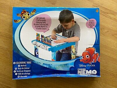 Disney Finding Nemo Colouring Table - Includes Table, Jumbo Markers & Jumbo Cray • 18.99£