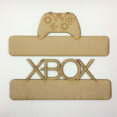 Name Plaque XBOX Door Sign Controller Personalised MDF Wooden • 3.99£
