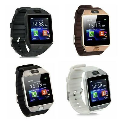 AU12.59 • Buy DZ09 Bluetooth Smart Watch Camera Phone Mate GSM SIM For Android Samsung T5L3
