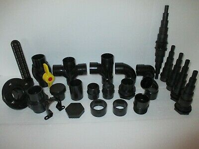 1.5 Inch Solvent Weld Pipe Fittings Koi Pond • 0.99£