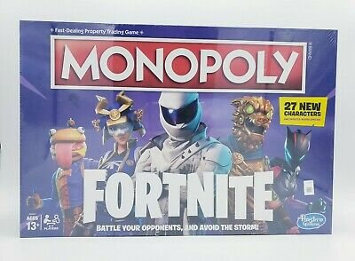 $19.69 • Buy Monopoly: Fortnite Edition Board Game - Newest Edition - 27 New Characters [NEW]