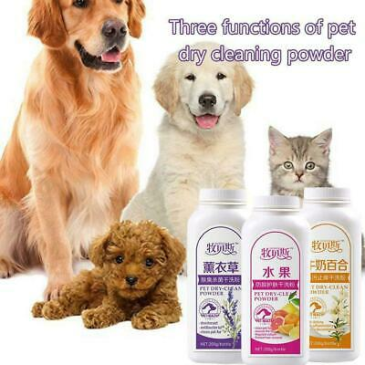 Pet Dry Cleaning Powder Shampoo Deodorant For Dog/Cat R0E8 • 5.92£