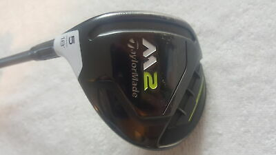 $ CDN91.09 • Buy Used TaylorMade M2 2017 - 5 Fairway Wood 18* - Stock M2 REAX 55 Regular - LH