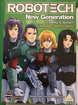 Robotech The New Generation Complete Collection Box Set DVD Anime • 9.99£