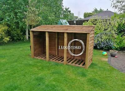 LARGE LOG STORE - Free Assembly. Free Local Delivery.   • 215£