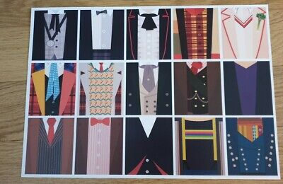 £10 • Buy Doctor Who A3 Exclusive Poster Costume Montage Tardis Dalek