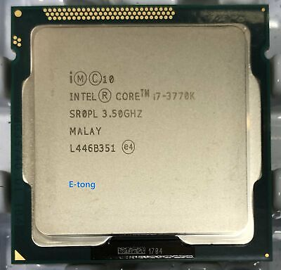 SR0PL Intel Core I7-3770K 3.5GHZ 4-Cores 8-Threads LGA 1155 H2 CM8063701211700 • 95.04£