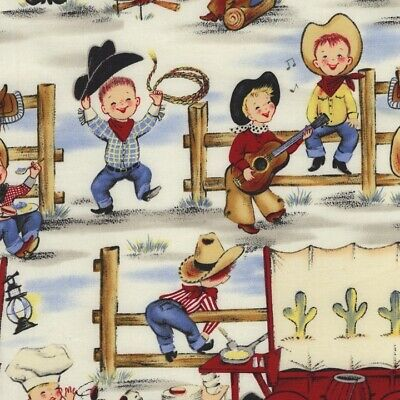 £4.50 • Buy Michael Miller Fabric - Lil Cowpokes - 100% Cotton - Multiple Sizes