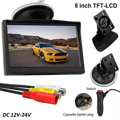 AU28.49 • Buy 5  TFT-LCD Color Monitor For Car Reverse Rear View Backup Camera AUTO Parking