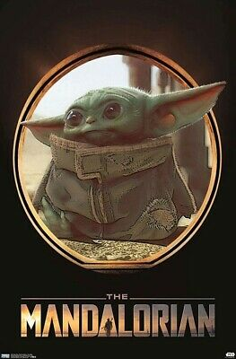 "$12.50 • Buy The Mandalorian ( 11"" X 17"") Baby Yoda Poster  DISNEY STAR WARS The Child"