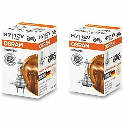 AU28 • Buy OSRAM H7 HALOGEN HEADLIGHT GLOBES 12V 55W PX26d 64210 GERMAN Product
