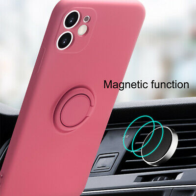 AU7.99 • Buy Shockproof Case For IPhone 11 7 8 6 6s Plus With Magnetic 360° Rotate Ring Stand