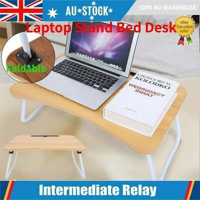 AU25.98 • Buy Portable Foldable Laptop Stand Desk Lap Bed Table Tray Sofa Computer Table Table