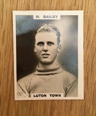 £4 • Buy Cigarette Card Luton Player By Godfrey Phillips 1922 Series Footballers Pinnace