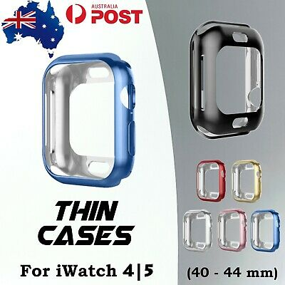 AU7.95 • Buy Apple Watch Cover Protection Case For IWatch 5 4 Series 40/44mm Bumper Soft TPU