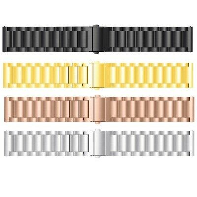 $ CDN13.14 • Buy Stainless Steel Watch Band For Fitbit Versa 2/Versa Lite Replacement Metal Strap