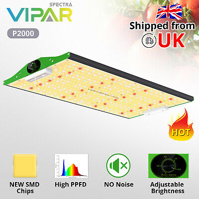 VIPARSPECTRA Pro Series P2000 LED Grow Light Full Spectrum Lamp For Indoor Plant • 229.99£