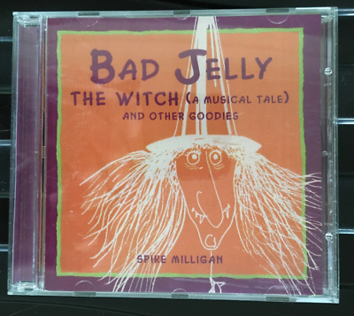 Spike Milligan & Ed Welch : Bad Jelly The Witch Story/musical CD VGC. • 14.99£
