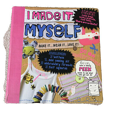 """Craft Sewing Book Of Projects """"i Made It Myself"""" RRP £7.99 • 3.50£"""