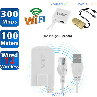 £23.71 • Buy 300M USB Wireless WiFi Network Bridge Dongle RJ45 Ethernet Port Adapter Cable NU