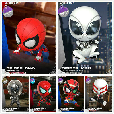 $ CDN44.08 • Buy Hot Toys COSBABY Spider-man COSB769-774 Mini Figure Doll Model Collection Toy