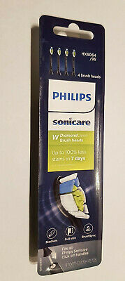 AU30.17 • Buy Philips Sonicare DiamondClean Toothbrush Heads Replacement BLACK HX6064