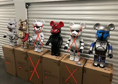 $13000 • Buy Star Wars Bundle (5-Piece Set) 1000% Be@rbrick Bearbrick