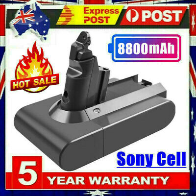 AU38.99 • Buy 8800mAh Sony Battery For Dyson V6 DC58 DC59 DC61 DC62 SV03 Absolute Vac Cleaner