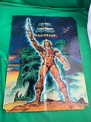$9.99 • Buy He Man Masters Of The Universe Magazine Poster #1 1984 MOTU Art By NOREM