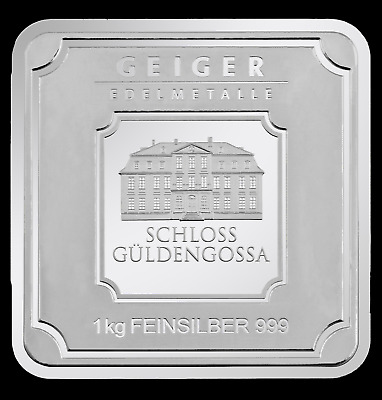 AU1635 • Buy 1kg Geiger Square Bar