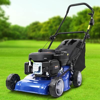 AU323.39 • Buy 4 Stroke Manoeuvrable Lawn Mower 6  Wheel Air Cooled OHV Motor Soft Grip Handle