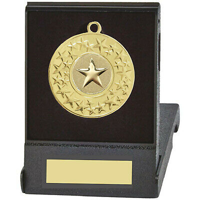 £5 • Buy 50mm Medal Supplied In Fold Up Plastic Medal Box - Free Engraving Included