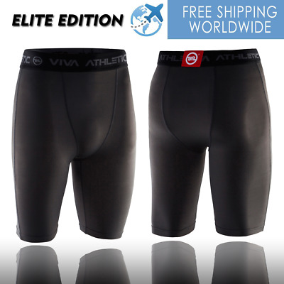 Mens Compression Shorts Tights Athletic Running Recovery Gym Lifting XS/S/M/L/XL • 22£