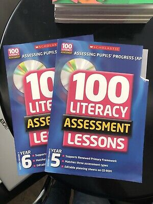 £4.25 • Buy 100 Literacy Assessment Lessons. Year 6, Year 7 Scottish Primary
