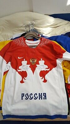 $150 • Buy Team Russia L Sochi Olympics 2014 White Jersey