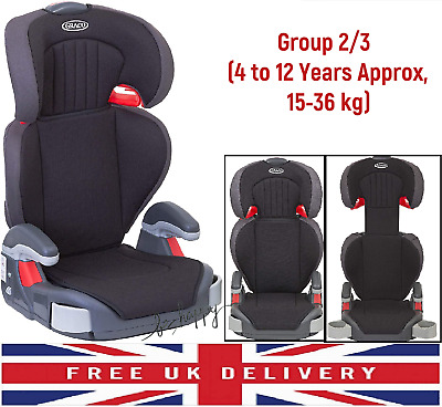 £36.09 • Buy Child Car Booster Seat Safety Chair Baby Toddler Kids Group 2/3  4 To 12 Year