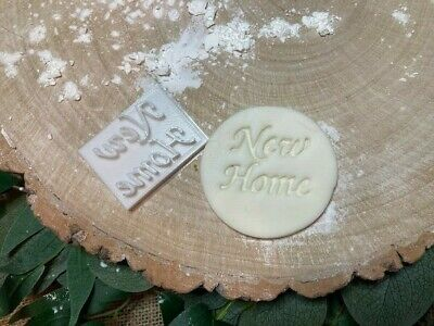 £3.79 • Buy New Home Embossing Stamp Cookie / Fondant / Icing
