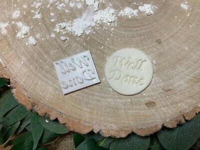 £3.79 • Buy Well Done Embossing Stamp Cookie / Fondant / Icing