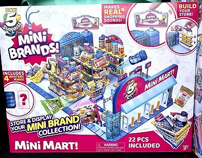 $ CDN91.22 • Buy ZURU 5 Surprise MINI BRANDS MINI MART 4 Mystery Store & Display Five In Hand