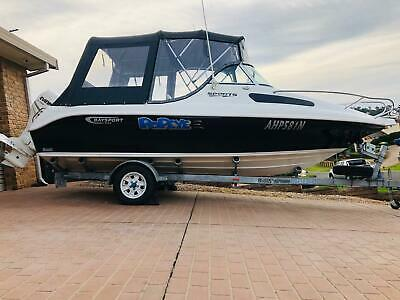 AU39500 • Buy 2013 Half Cabin Baysport 545 Boat With Evinrude 76hrs Only