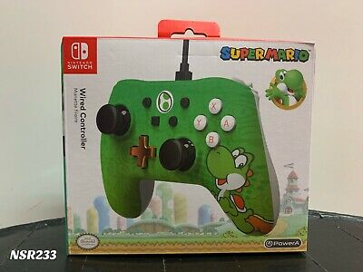 $29.99 • Buy Nintendo Switch Super Mario Yoshi Wired Controller Power A Brand New